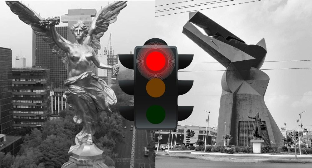 Seguirá INDEFINIDAMENTE semáforo rojo en CDMX y Edomex | DDC