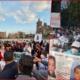 """AMLO gozaba la música de Eugenia León mientras madres de personas desaparecidas protestaron frente a Palacio Nacional… las mandaron """"al carajo""""."""