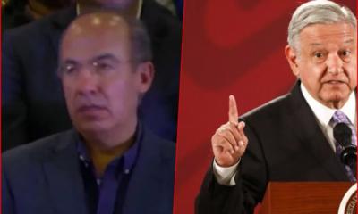 El expresidente Felipe Calderón dio positivo a COVID-19… Y para que vean AMLO no tiene por fuerte la venganza y sí la empatía, le desea pronta recuperación.