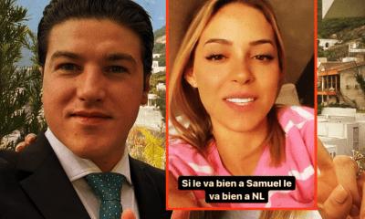 Mariana Rodríguez, esposa del gobernador electo Samuel García, pide que lo apoyes, porque gobernará te guste o no. Mejor échale vibras, por fi.